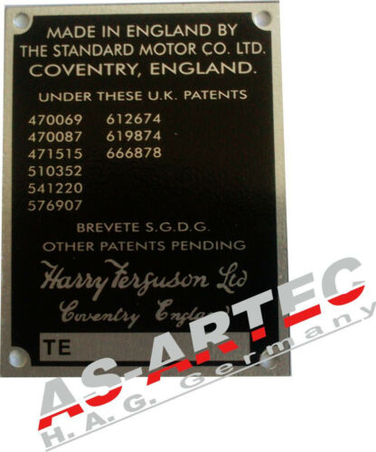 331 tipos escudo Massey Ferguson te T