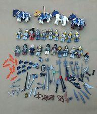 LEGO CASTLE minifigures horses fantasy era knight weapons shields bulk accessory