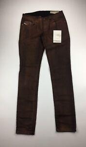 Diesel Damen Jeans Gr. w27 l32 Grupee 0e822 Super Slim Skinny Stretch NWT