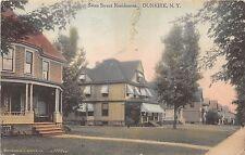 New York NY Postcard DUNKIRK Chautauqua County 1911 SWAN STREET Homes 19