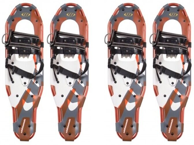 2 Pairs NEW WHITEWOODS LT30 8.5x30  SNOWSHOES Best Binding Technology -FreeMask