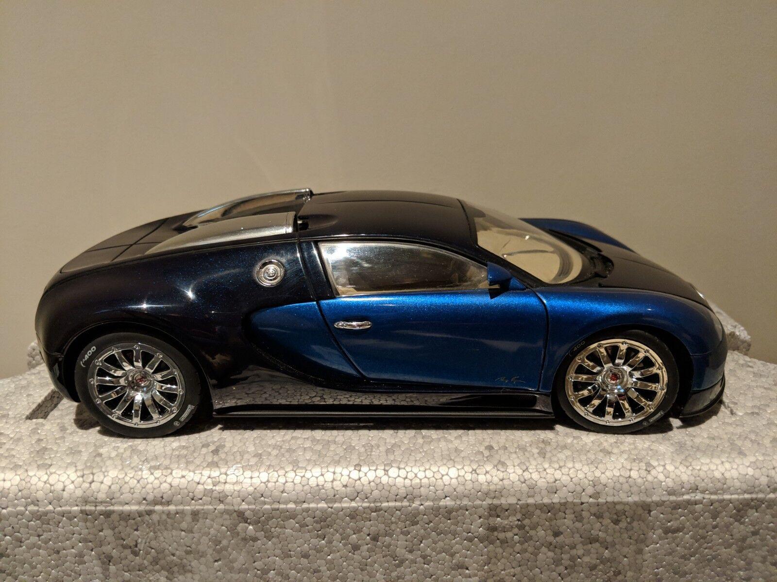 descuento de ventas en línea Autoart-Bugatti EB 16.4 16.4 16.4 Veyron-Edición Limitada-Azul  Obtén lo ultimo