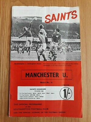 Various Fixtures 1968//69  Manchester United Football Programmes