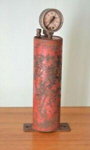 Antique-metal-air-air-reservoir-tank-Hughes
