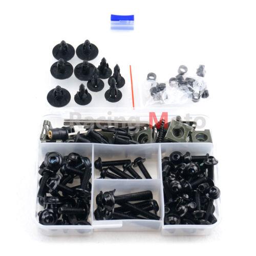M5 M6 1 Set Complete Fairing Bolt Kit Body Screws For Kawasaki ER-6N ER-6F ER-5