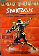 SPARTACUS German A1 movie poster R74 STANLEY KUBRICK KIRK DOUGLAS TONY CURTIS NM