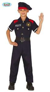 Vestito Carabiniere Bambino.Costume Carnevale Poliziotto Vestito Bambino Carabiniere Taglia 10 12anni Guirca Ebay