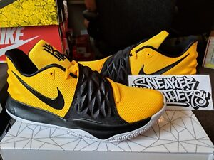 new arrival 7084a 9e456 Image is loading Nike-Kyrie-Low-1-Amarillo-Black-Yellow-Irving-