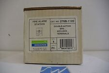 Edwards Signaling 278b 1120 Fire Alarm Pull Station With Keylock New In Box