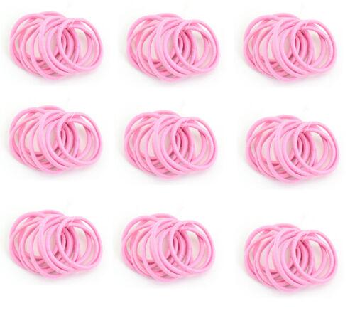 36pcs 60pcs 120pcs 3cm Small Hair Elastic Bands Endless Snag Free Eco Quality