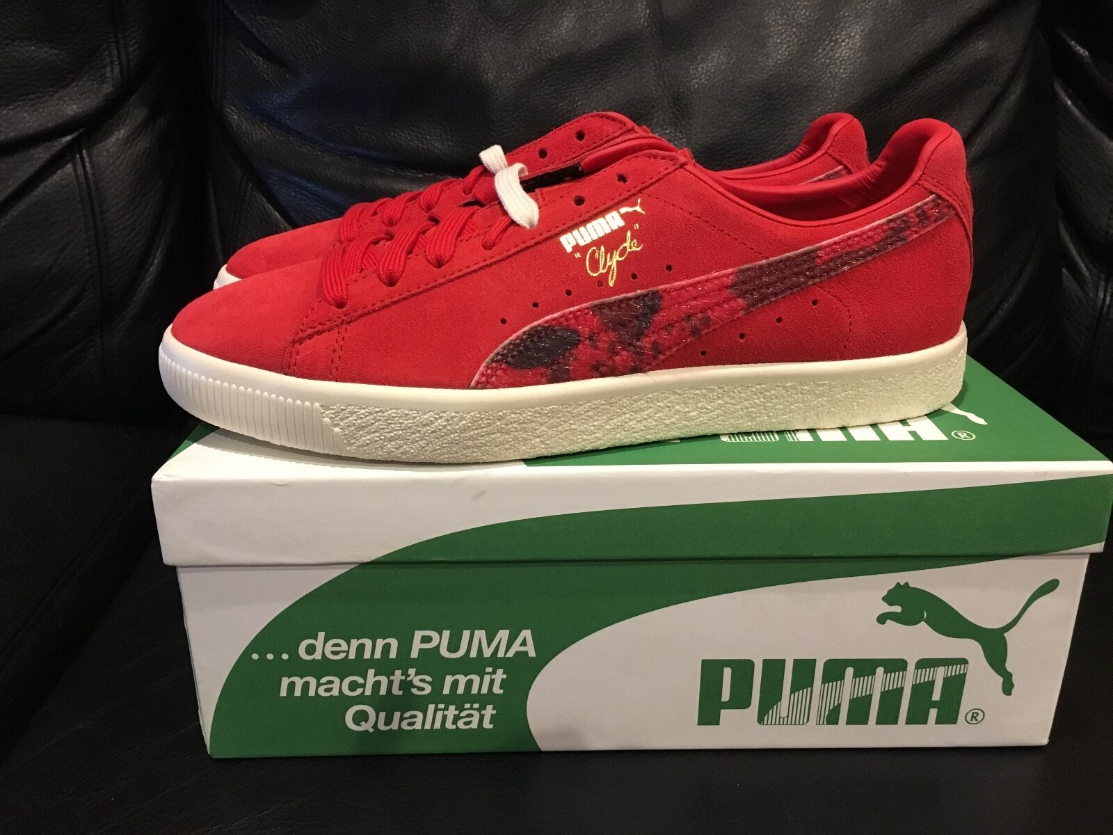 Puma x Packer Shoes High Risk 9 Rojo Cow suit tamaño 9 Risk Hombre cómodo y atractivo c5b602