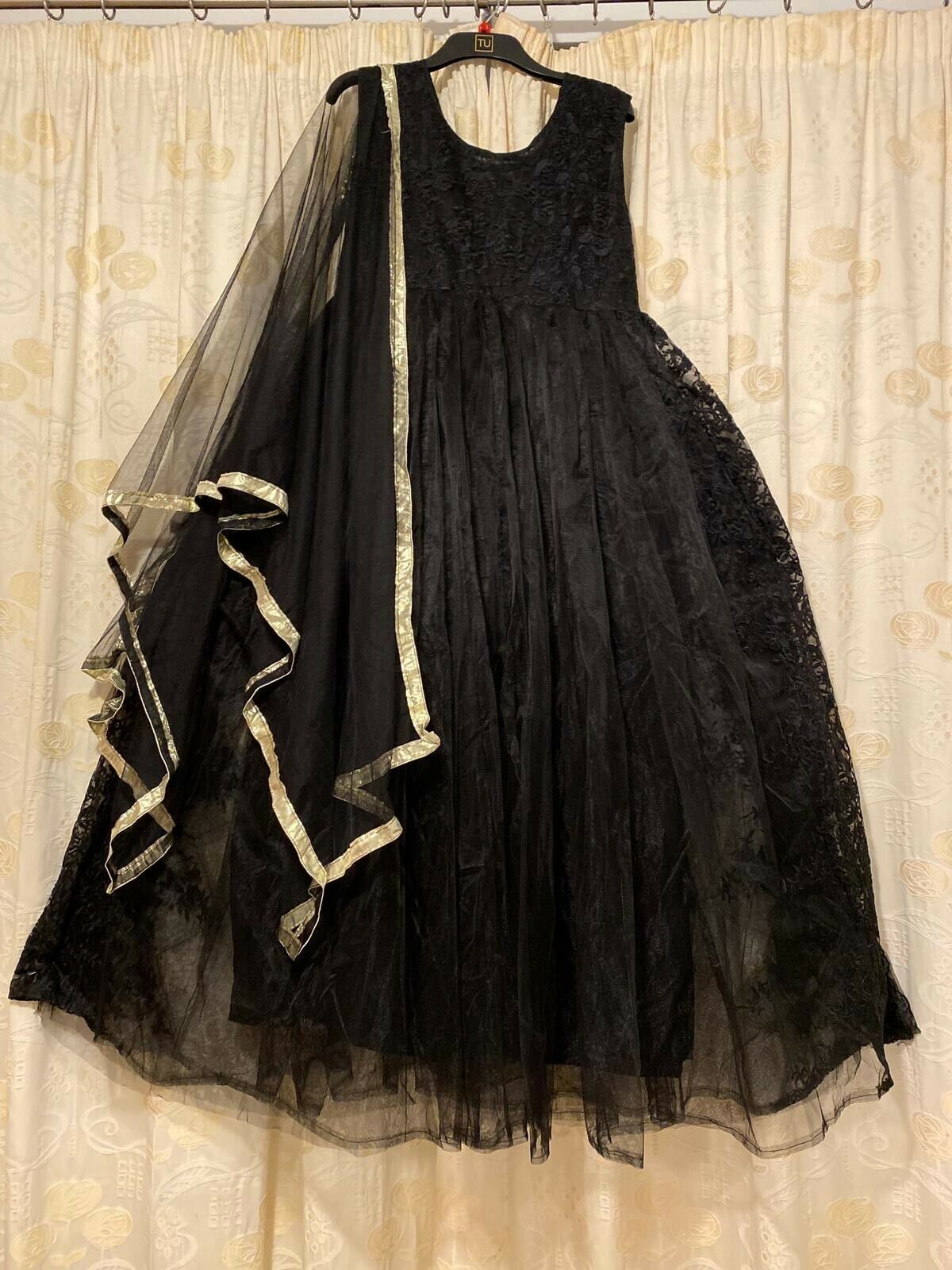 Ball Gown Medium Women Wedding Party Wear Semi Formal Dress