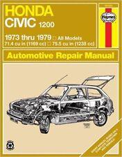 HONDA 1200 CIVIC Sedan Hatchback Service Manual 1979 1978 1976 1975 1974 1973