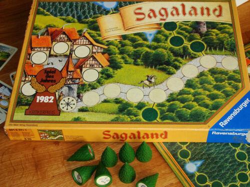 Sagaland alte Version Ersatzteil 1x Baum oder Spielfigur Bäumchen Männchen Kegel
