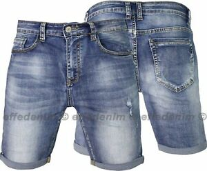 Bermuda-Uomo-Jeans-ED-slim-elasticizzati-EFFEDENIM-pantaloncini-corti-Short-2195