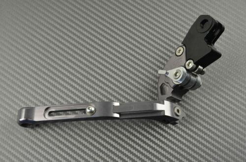 Folding Levers Titanium CNC BMW S1000R no shiftgear 2014-2016 Adjustable