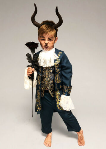 Childrens Size The Beast Costume with Horns