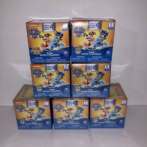 NEW-Paw-Patrol-Series-4-Mighty-Pups-Super-Paws-Mini-Figures-Blind-Boxes-Lot-of-7