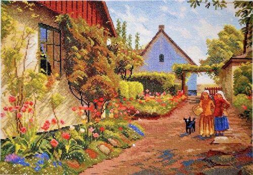 Counted Cross Stitch Kit Marya iskusnitsa-maisons en couleur