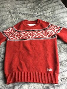Comme Neuf Taille Superdry Pull M UfwAtxTn