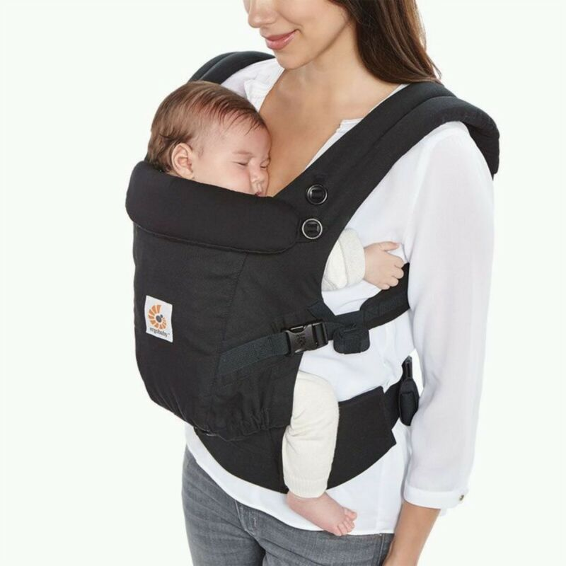 Baby front and back carrier bag.