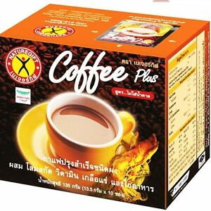 Details About Weight Loss Diet Instant Coffee Plus Ginseng Naturegift 1 Box 10 Sachets