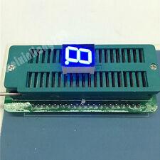 "10pcs 0.36 inch 1 digit led display 7 seg segment Common anode 阳 blue 0.36"""
