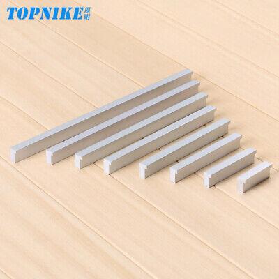 Aluminium Solid Cabinet Door Drawer Cupboard Pull Knob Handle 160mm Silvery