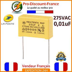 Condensateur-MKP-0-01-F-275VAC-10nF-0-01MF-0-01uF-X2-AC275V-275V-Polypropylene