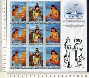 36444-MARSHALL-ISLANDS-1989-MNH-Salute-to-Alaska-S-S