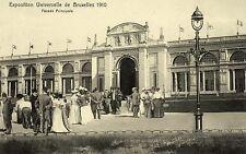 Postkaart - Brussel - EXPO 1910 - Hoofdgebouw