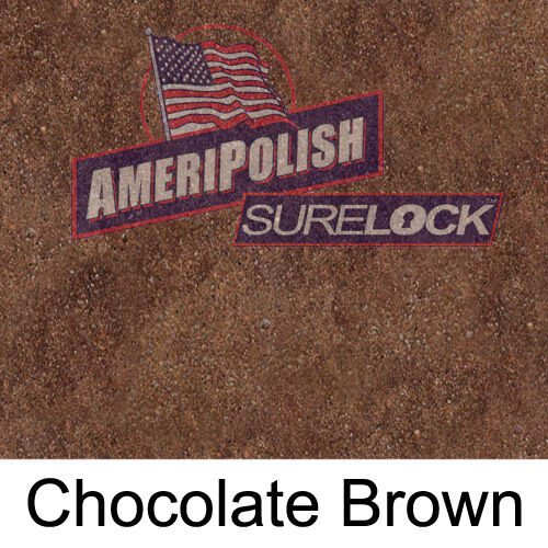 BROWN CONCRETE COLOR DYE FOR CEMENT 5 GL STAIN AMERIPOLISH Surelock color