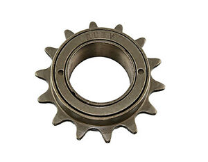 "Cassettes, Freewheels & Cogs New Single Speed Bicycle Freewheel 14t X 1/2"" X 1/8"" Brown Bmx Bikes The Latest Fashion Bicycle Components & Parts"