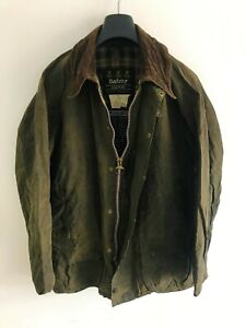 Mens-Barbour-Beaufort-wax-jacket-Green-coat-52in-size-Extra-Large-XL-2XL