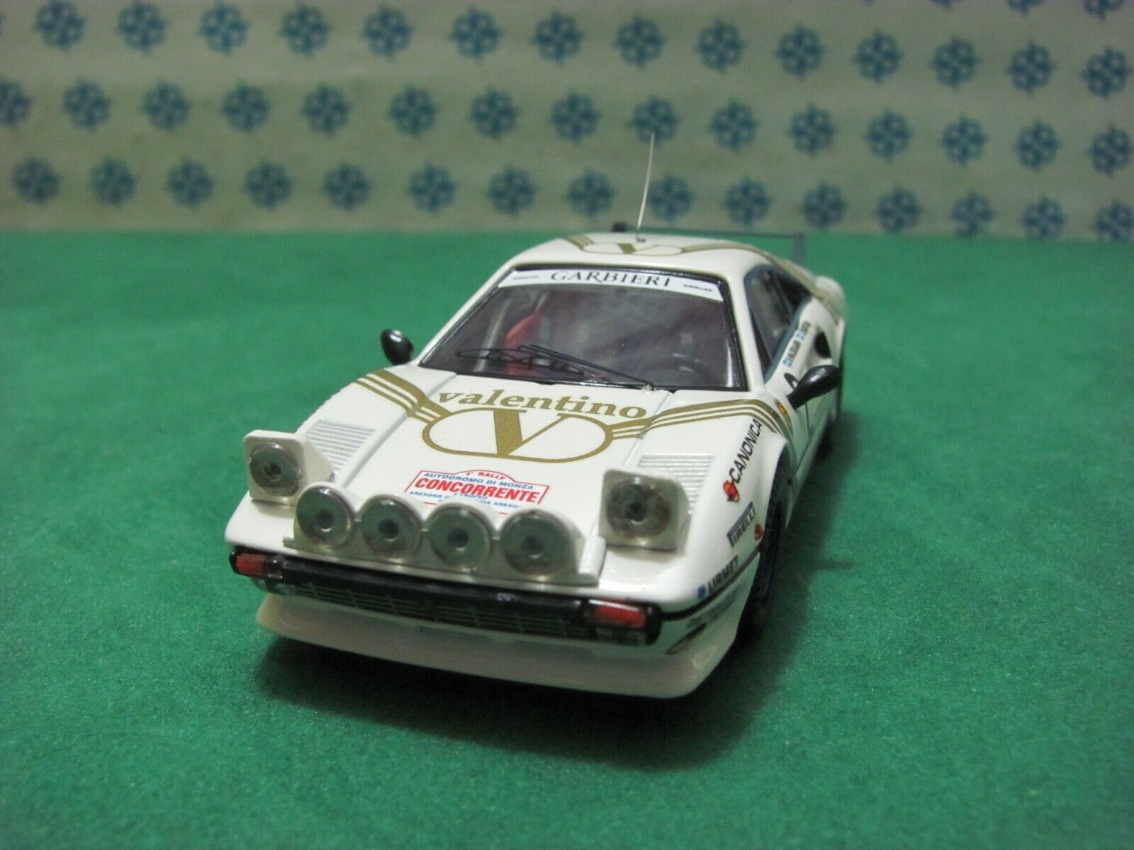 FERRARI 308 GTB PR 3000cc. coupè   Monza 1984    - 1 43 Best 9354