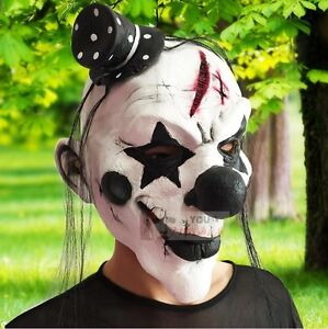Clown-Halloween-Horror-Scary-Mask-Costume-Cosplay-Movie-Rubber-Latex-Face-Masks