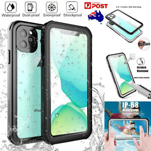 For iPhone 11 Pro Max Waterproof Slim Life Dirt/Shockproof Underwater Case Cover
