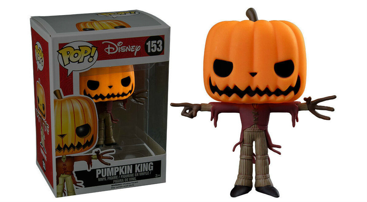 Geöffnet Exclusiv Nightmare Christmas Leuchtende Kürbis King 9.5cm Pop Vinyl