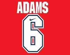 Adams #6 Arsenal 1994-1995 Home Football Nameset for shirt