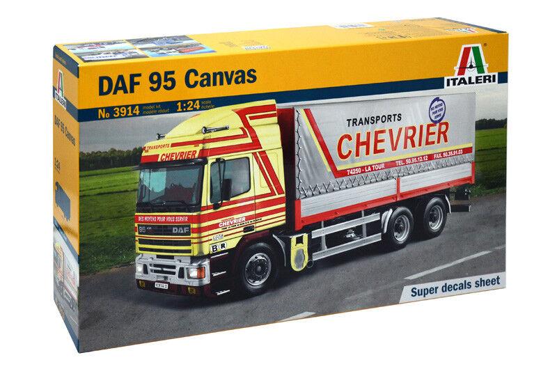 Daf 95 Canvas Kit Italeri 1 24 IT3914