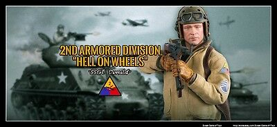 1/6 DID Figure WWII - US 2nd Armored Division Hell On Wheels SSAT Donald A800113