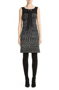 Image Is Loading Nwt St John Liya Tweed Shift Dress K11l060