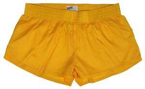 Gold-Shiny-Short-Nylon-Shorts-by-Soffe-Size-Large