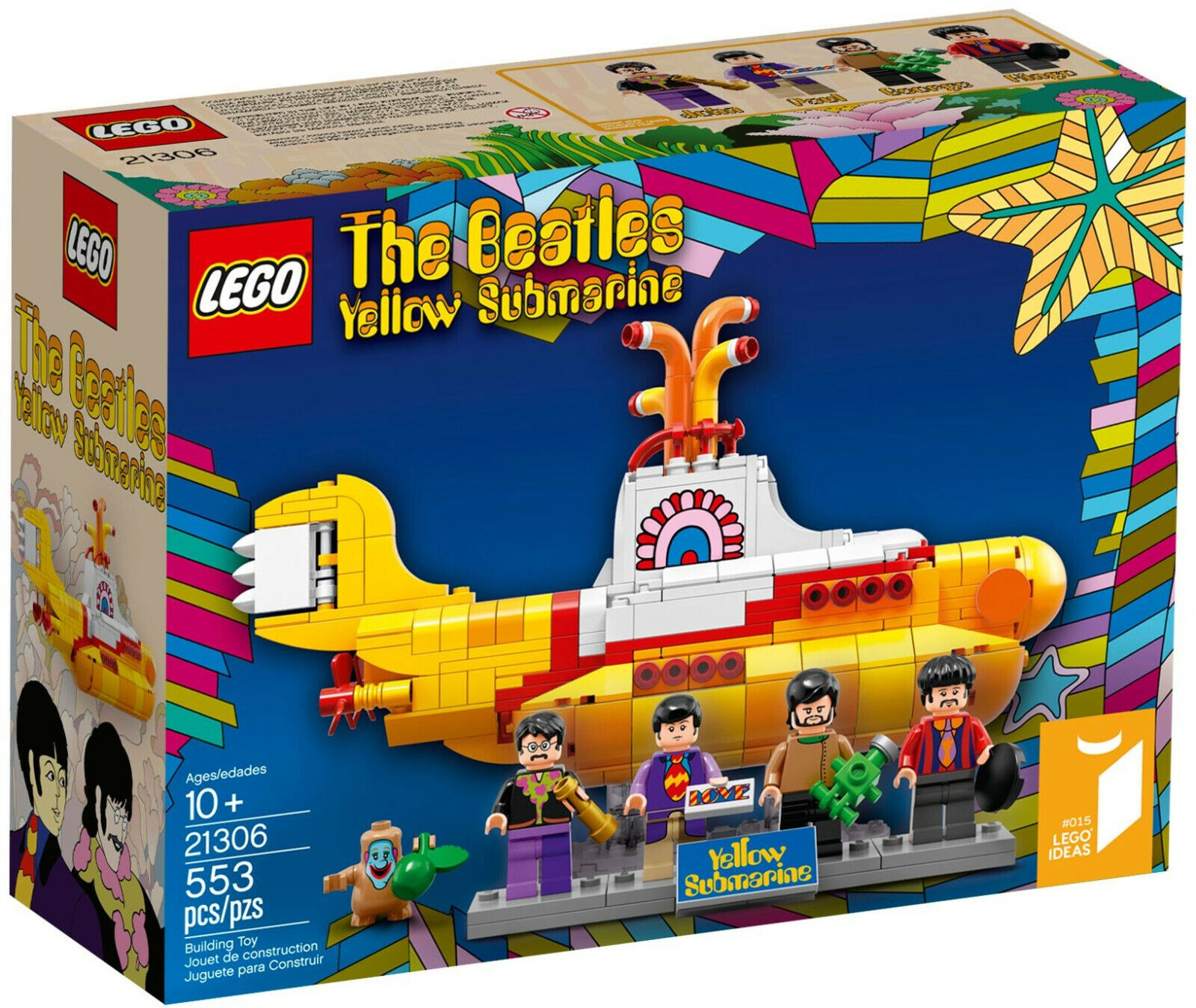 Lego Idées 21306 The Beatles jaune Submarine neuf et  scellé GRATUIT UK ENVOI  avec 60% de réduction