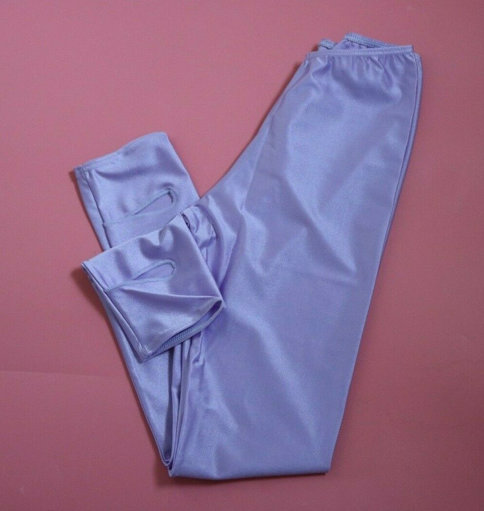 Adagio Lilac Nylon Lycra Stirrup Leggings Maids Age 10 – 12 NEW