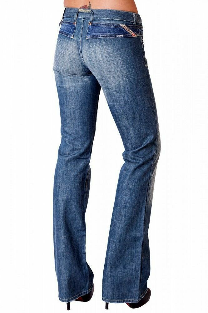 Women jeans LADIES GIRLS DIESEL bootcut LEG JEANS W 24 X L 30