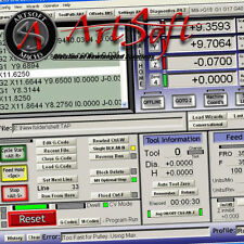 Mach3 CNC Router Milling Software 5 axis stepper motor control