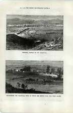 1880 Rustenberg Transvaal Town And Capital Pretoria