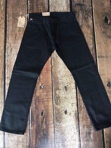 Lynn Lauren Nuovo Comstock Ralph West 33x30 a Denim Black gamba Supply Jeans dritta 889425269779 x7zw7nA