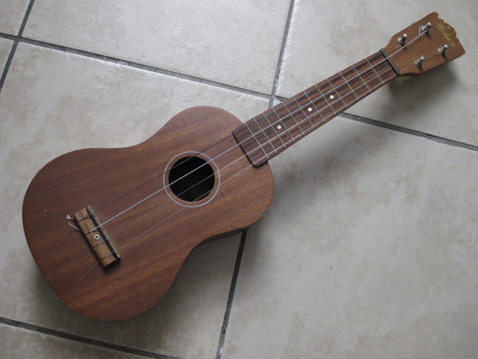 Vintage Vintage Vintage Japón-hecho Hohner Caoba Ukelele Guitarra Lindo 019088